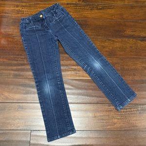 Janie & Jack Dark Wash Denim Jeans Sz 7